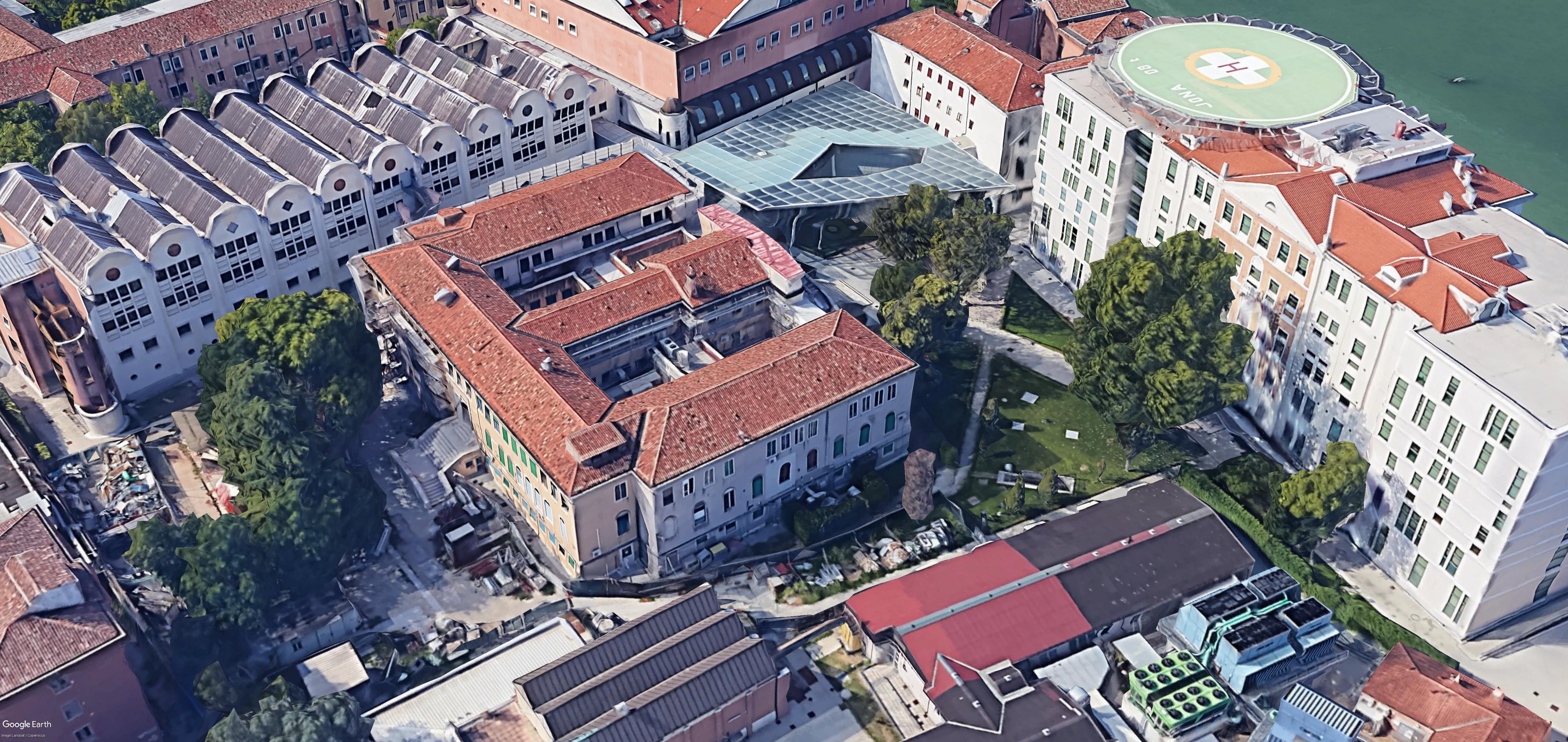 Padiglione Gaggia Ospedale San Giovanni e Paolo
