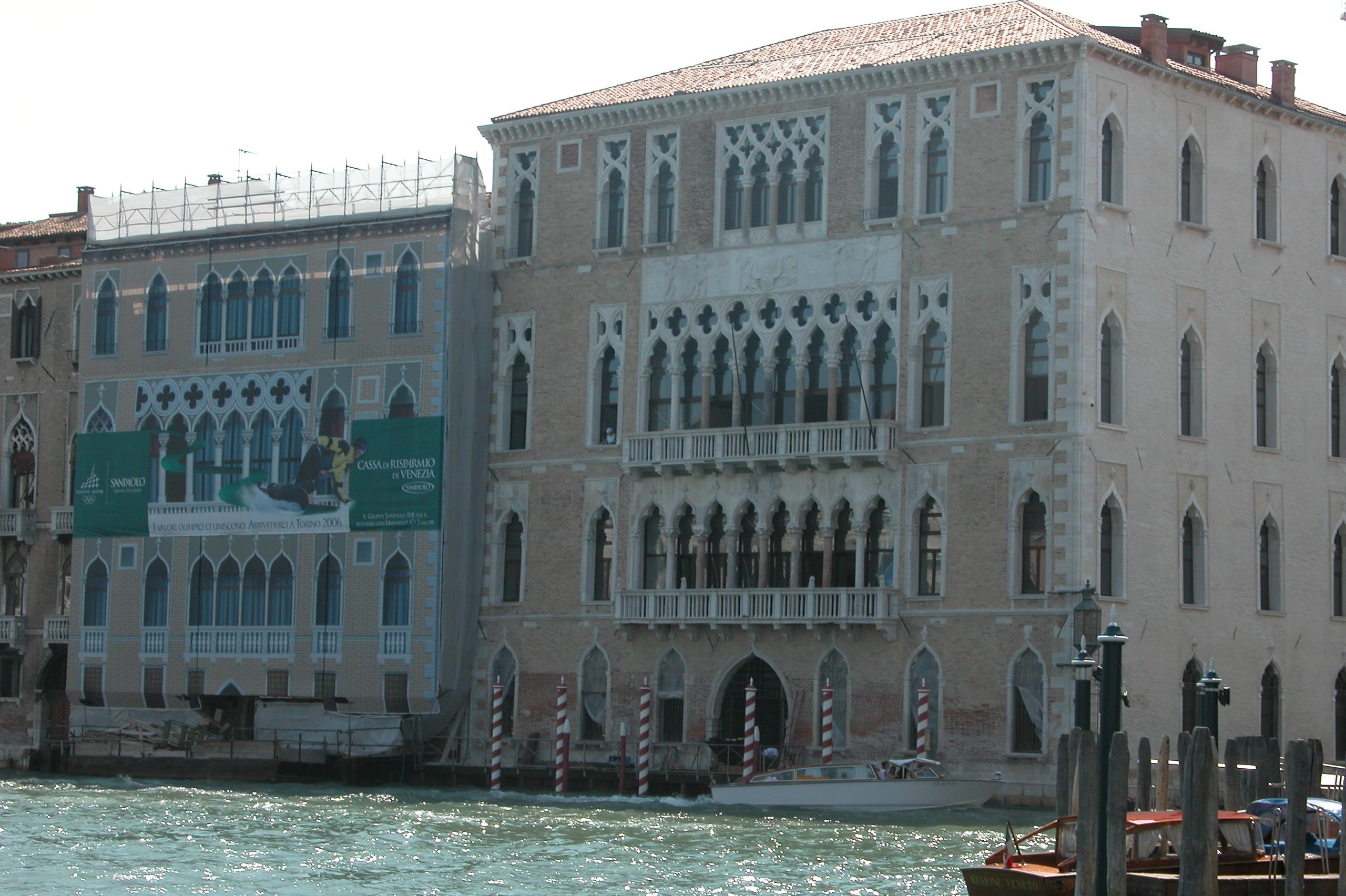 Restauro della sede storica di Cà Foscari a Venezia